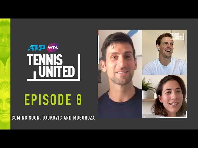 Coming Soon: Novak Djokovic & Garbine Muguruza join Tennis United