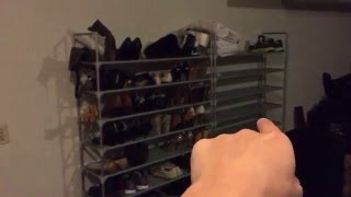 Best Inexpensive Shoe Rack: Can Adjust How Many Tiers You Want.