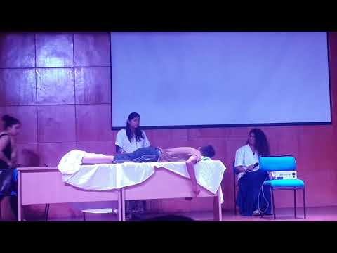 Life of a physiotherapist(comical drama)