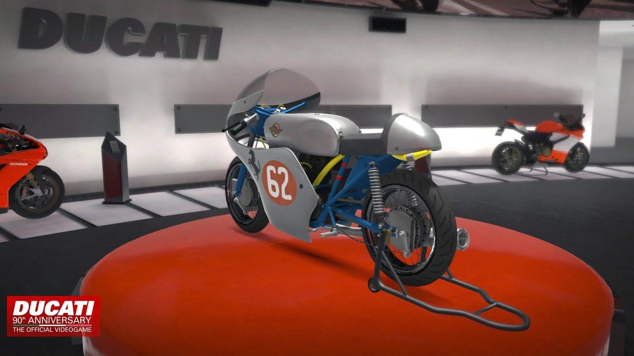 ducati 90th anniversary the official videogame - historic bikes
