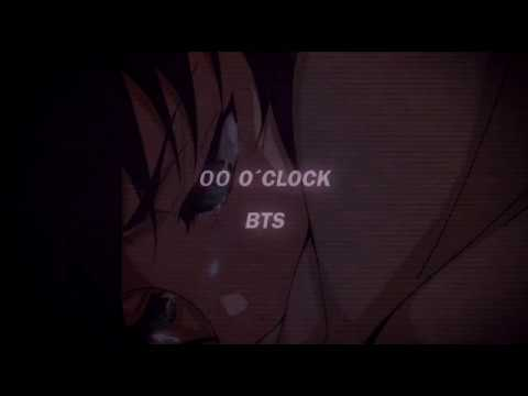 00:00 Zero o'clock - 𝘉𝘛𝘚 (slowed + reverb)