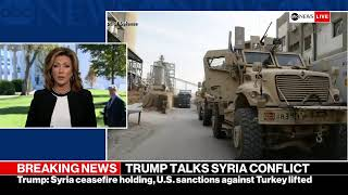 President Trump makes statement on Syria from the White House | ABC News
