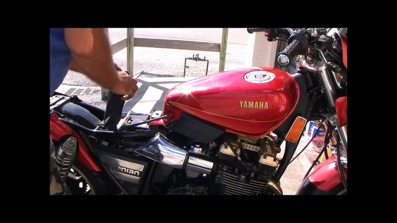 Yamaha Radian Battery