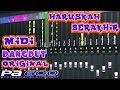 Haruskah Berakhir Midi Dangdut Original Korg PA 600