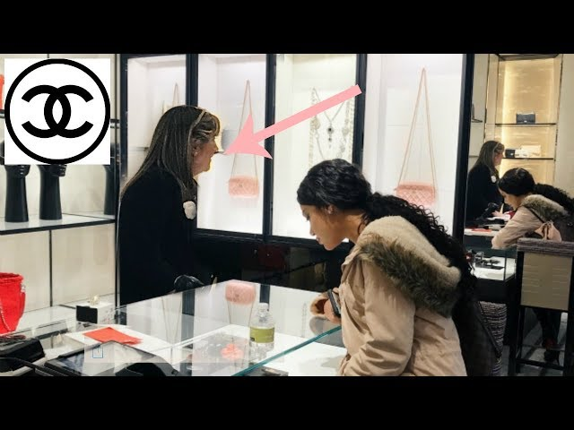 chanel employee shames me for being young and rich (spending over $5,000)