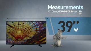 LG 43UH6100 4K UHD HDR Smart LED TV // Full Specs Review  #LGTV