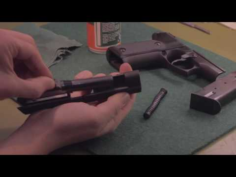 Tutorial: Pistole Astra A-100 9mm Zerlegen