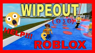 ROBLOX WIPEOUT THE HARDEST OBSTACLE COURSE - PART 1