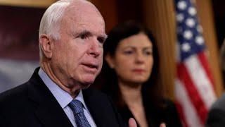 Lawmakers in Washington reflect on their time with John McCain