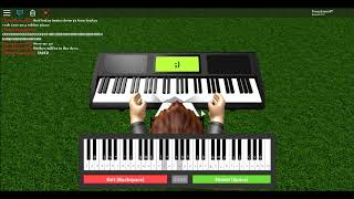 How to play Crab Rave on the ROBLOX Piano! (Easiest way)