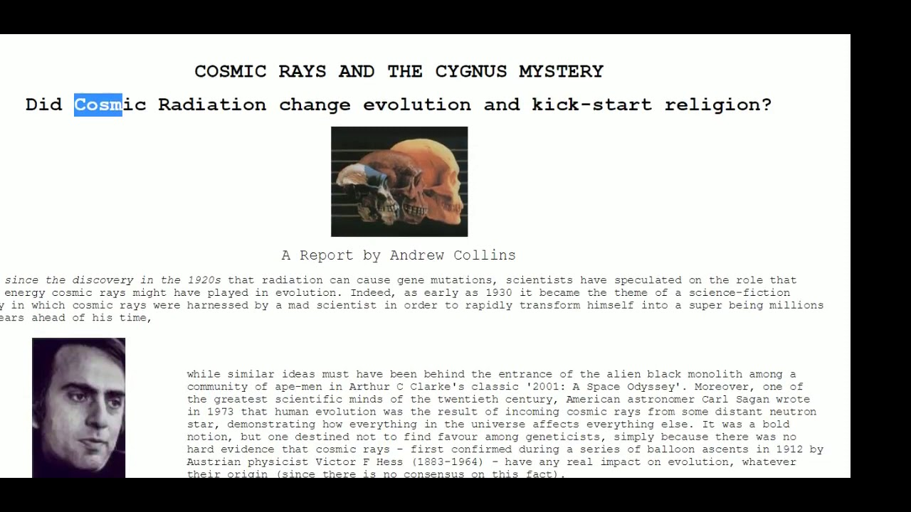 Cygnus Mystery Solved - Lord Steven Christ's Concave Earth