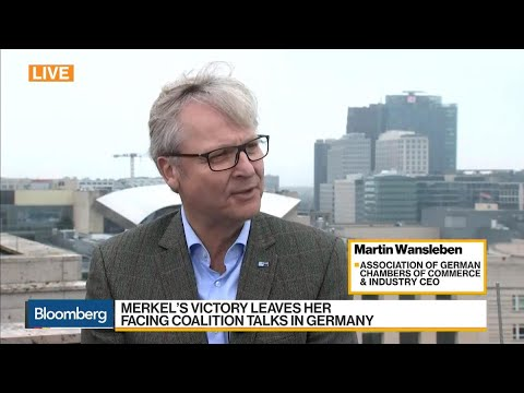 DIHK's Wansleben Says Germany Needs Strong Government