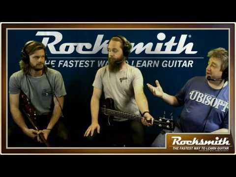 Rocksmith 2014 - 90s Mix DLC - Live from Ubisoft Studio SF