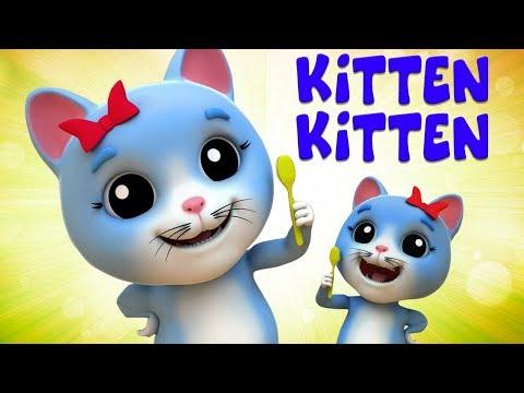 gatinho gatinho sim mama | canção para crianças | Kitten Kitten Yes Mama | Nursery Song