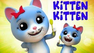 gatinho gatinho sim mama   canção para crianças   Kitten Kitten Yes Mama   Nursery Song