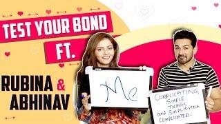 Test Your Bond Featuring Rubina Dilaik & Abhinav Shukla   Exclusive   India Forums thumbnail