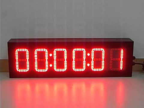 Countdown Board Digital Clock Led Display Score Board