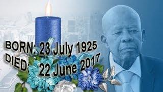 Sir Ketumile Masire Funeral Service