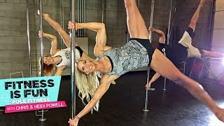 Fitness is Fun: Pole Fitness with Chris and Heidi Powell