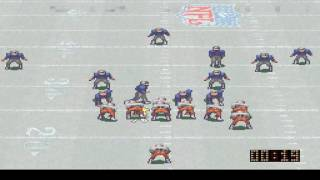 NFL Quarterback Club (SNES): New England Patriots vs Tampa Bay Buccaneers