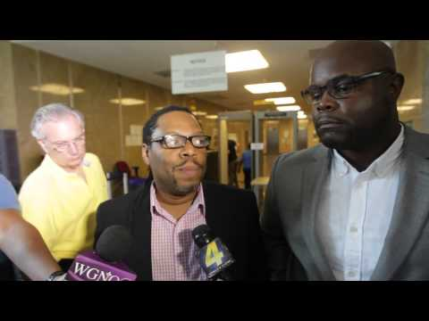 Michael Robinson and his partner Earl Benjamin talk about having to wait to get their marriage licen