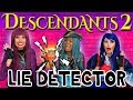 Descendants 2 Lie Detector Test With Uma Mal And Evie Totally TV mp3