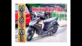 REVIEW NEW MIO M3 125 2018 warna HITAM - BELI MOTOR BARU