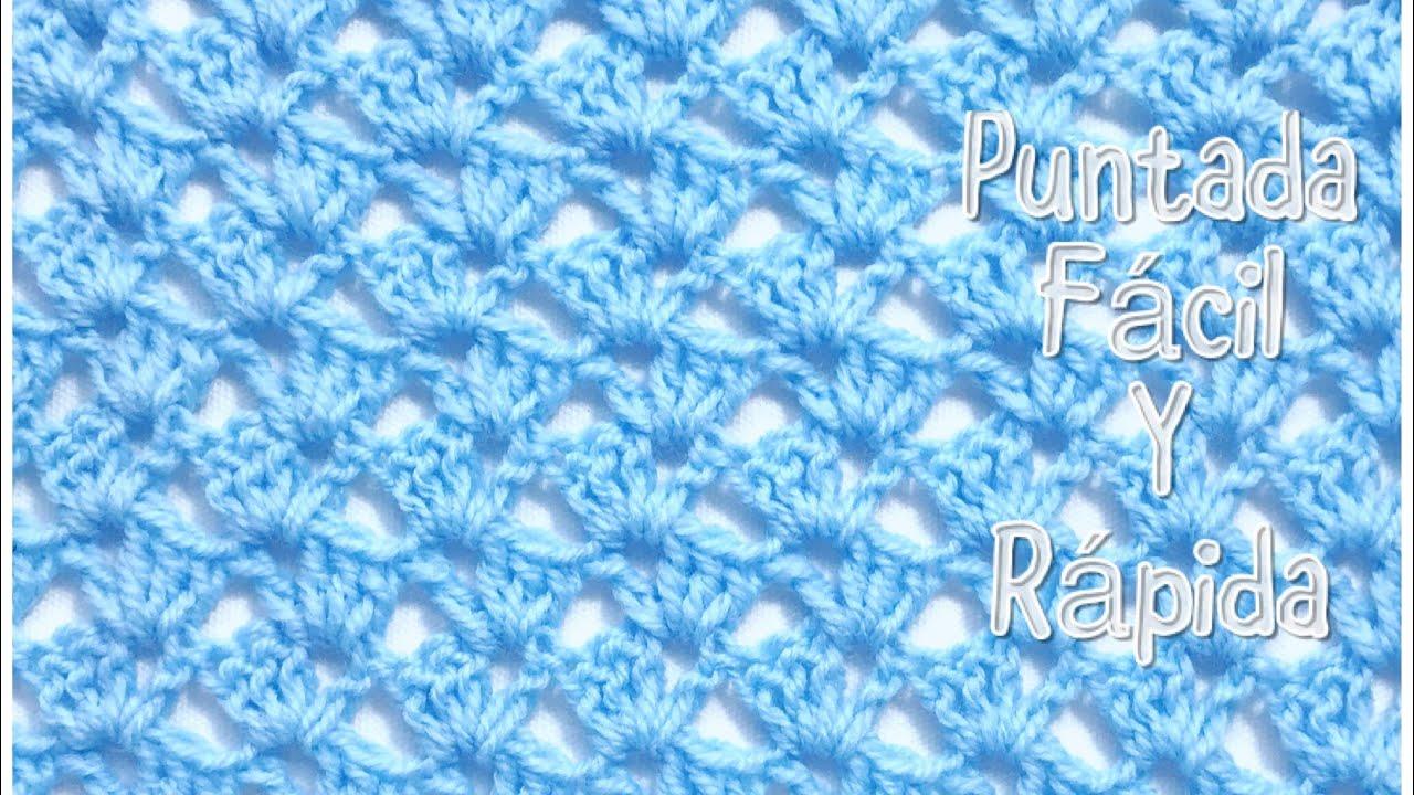 Puntada para manta de bebe f cil y r pida para - Manta de crochet facil ...