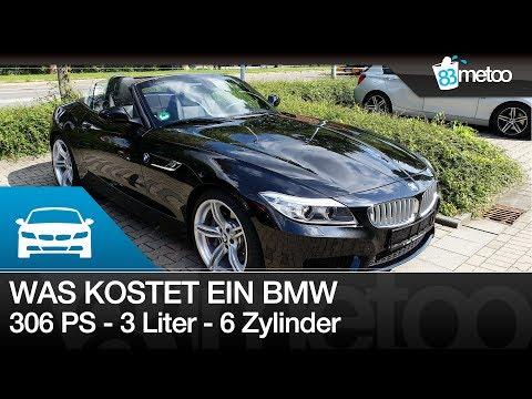 Was kostet so ein 306 PS 3 Liter 6 Zylinder BMW im Unterhalt? Kosten für BMW Z4 35i nach 30.000KM