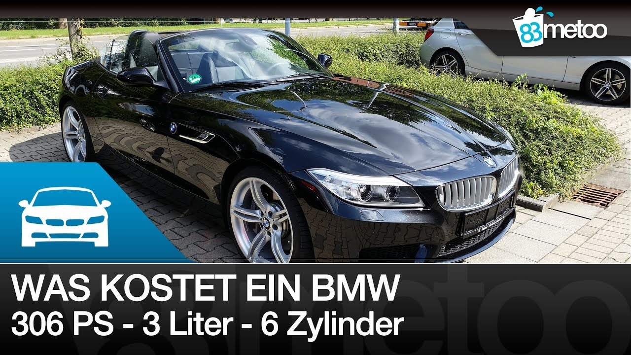 was kostet so ein 306 ps 3 liter 6 zylinder bmw im unterhalt kosten f r bmw z4 35i nach 30. Black Bedroom Furniture Sets. Home Design Ideas