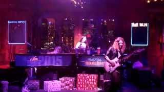 Female Guitarist and Female Drummer Shred Ozzy Osbourne - Crazy Train