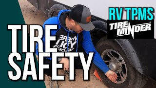 Are your RV TIRES Safe? Ours weren't! | TireMinder TPMS (Plus a Giveaway!)