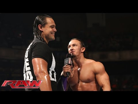 Bo Dallas interrupts Neville: Raw, May 18, 2015
