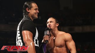 Bo Dallas interrupts Neville: Raw, May 18, 2015