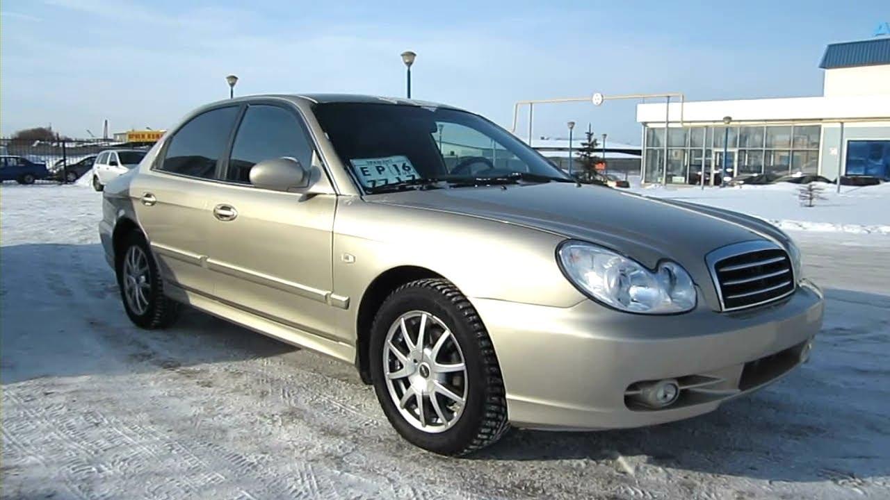2005 Hyundai Sonata. Start Up, Engine, And In Depth Tour.   YouTube