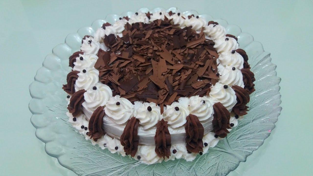 Üstü çikolatalı pasta-EVDE SÜSLEME TEKNİKLERİ-LEZZETLİ TARİFLER