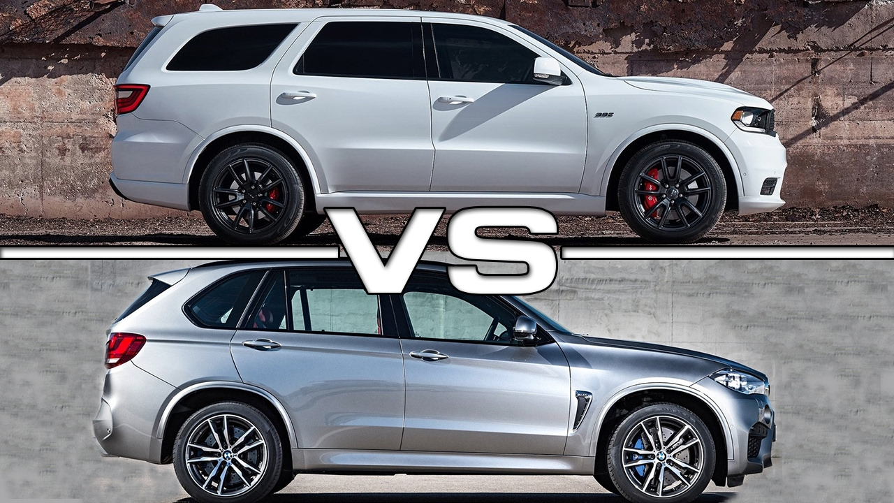 Bmw X5m 2018 >> 2018 Dodge Durango SRT vs BMW X5M - YouTube