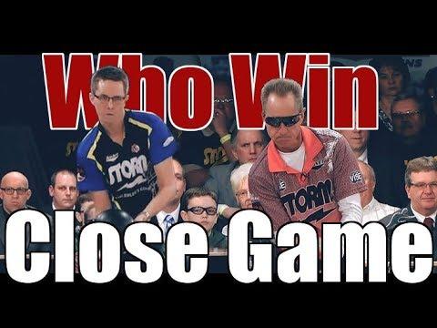 Close Game Bowling Game - Martin Larsen VS. Pete Weber
