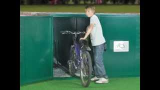 Single Bike Locker By Asgard