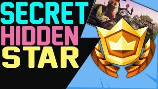 Fortnite SECRET HIDDEN BATTLE STAR LOCATION WEEK 2 SEASON 5 - Road Trip Challenges