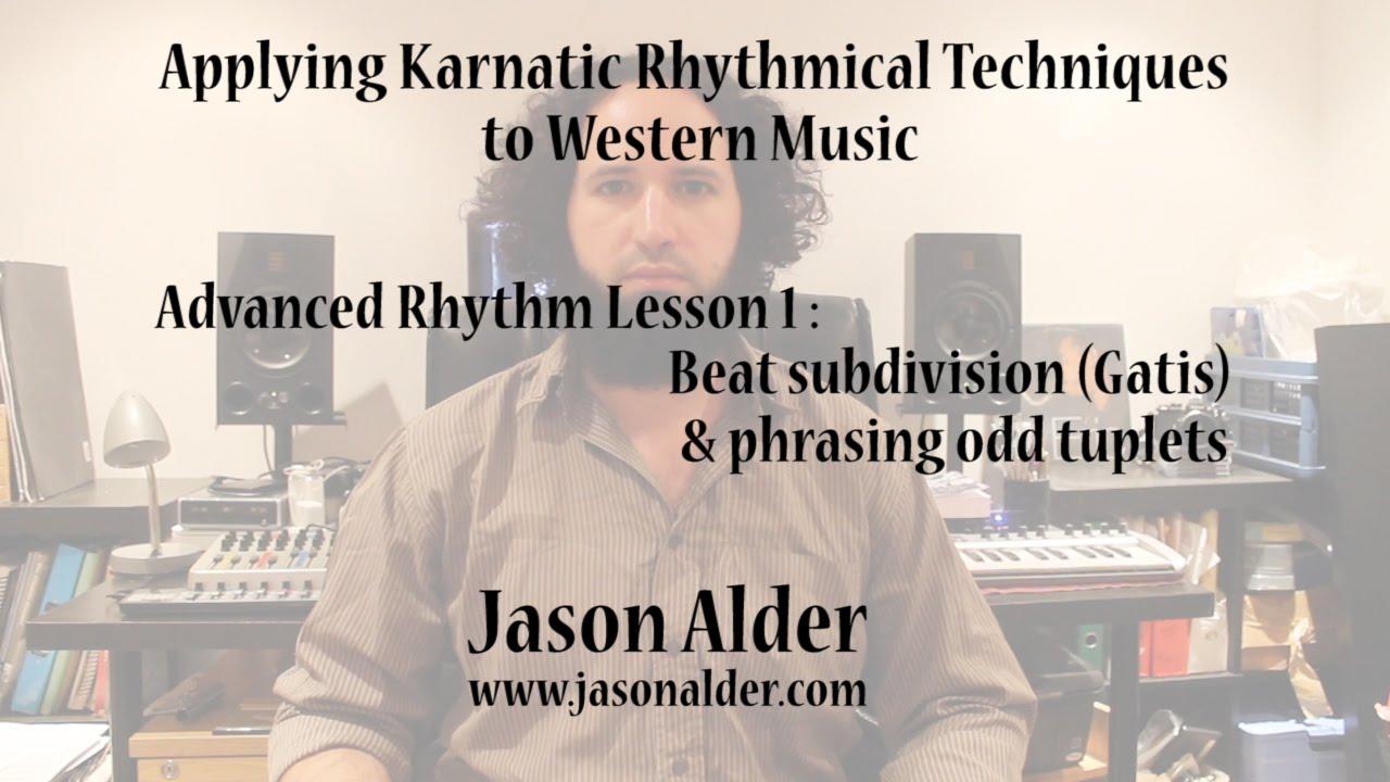 Advanced Rhythm through Karnatic Techniques- Lesson 1- beat