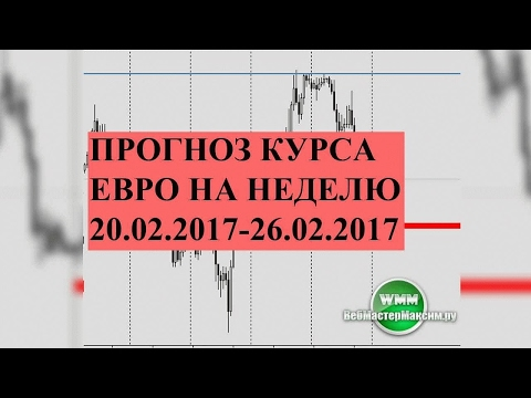 Прогноз курса евро на неделю 20.02.2017-26.02.2017. Что будет если войти сейчас.