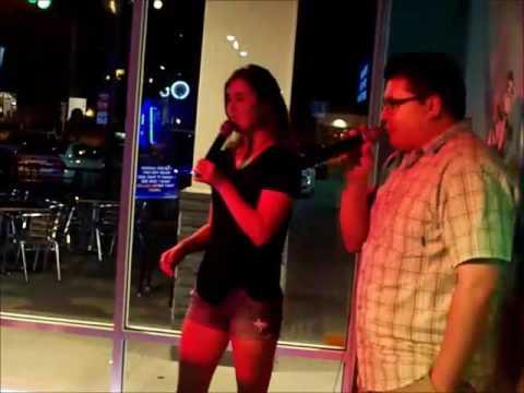 Sun. June 12, 2016 ~ Nicole & Andreyko Sing Karaoke at the Monkey's Uncle Tavern!!