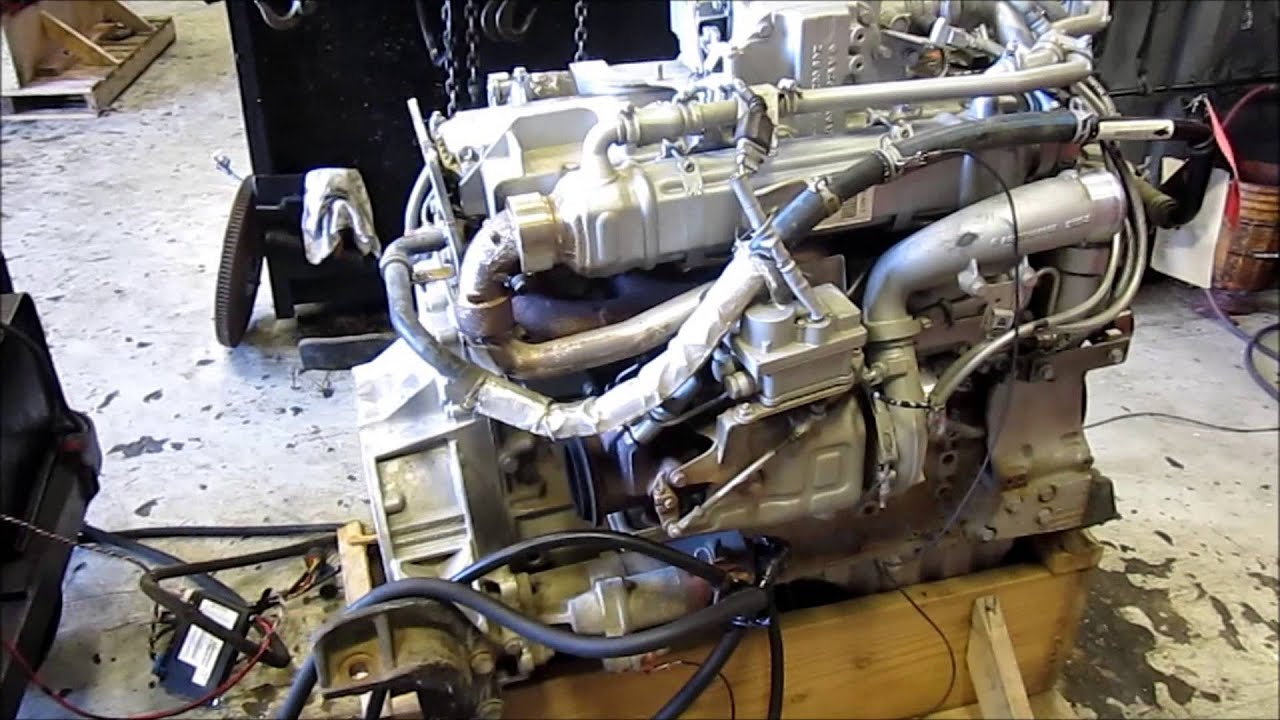 Cummins Diesel Engines >> 2008 Mercedes OM926LA Diesel Engine Running - YouTube