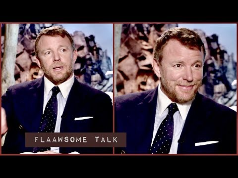 GUY RITCHIE trying to explain his own DIRECTING STYLE - and how he calms his nerves
