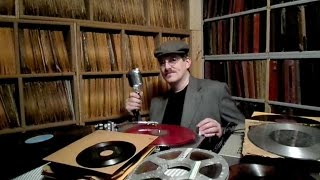 Spike Hyssong -- My record collection (78 rpm, LPs, 45 rpm, oddities, etc...)