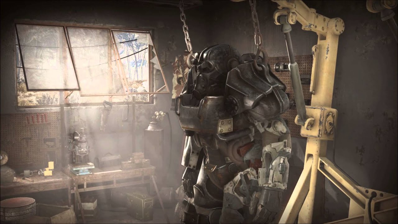 Fallout 4 animated wallpaper (Deskscapes) - YouTube
