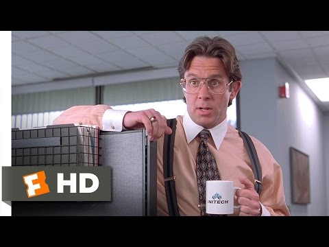 Office Space 15 Movie   Did You Get the Memo? 1999 HD
