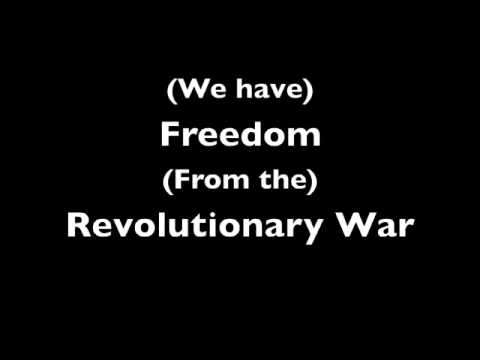 The BEST Revolutionary War Rap - With Lyrics