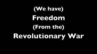 The BEST Revolutionary War Rap - With Lyrics